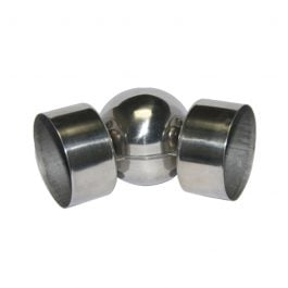 tube elbow stainless steel pipe coupler