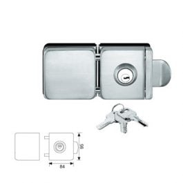glass door lock without drilling tempered glass door lock